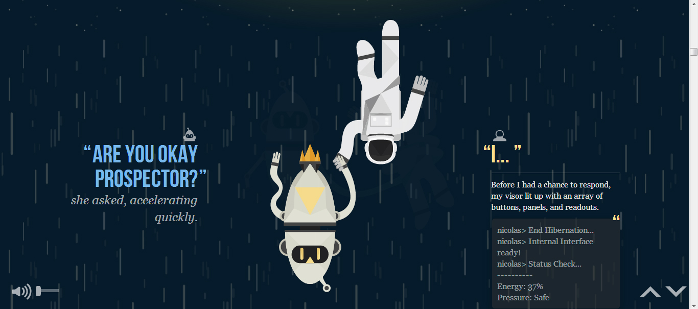 parallax scrolling websites examples