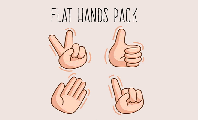 free gesture icon sets