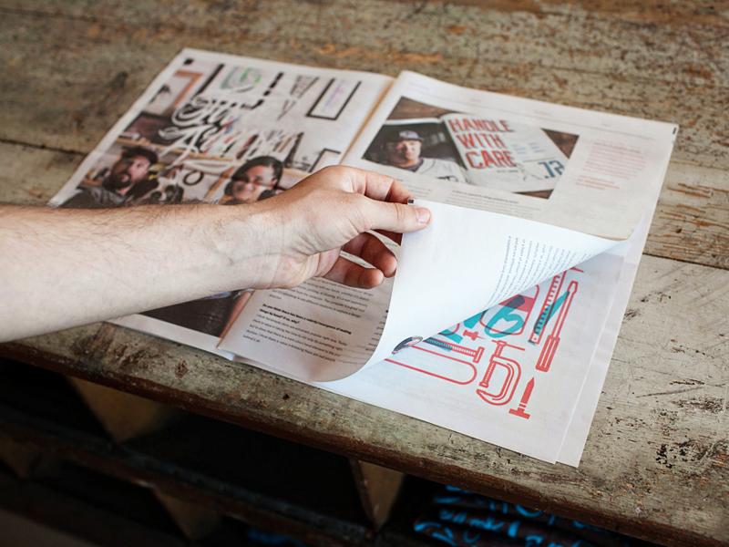 newspaper layout designs