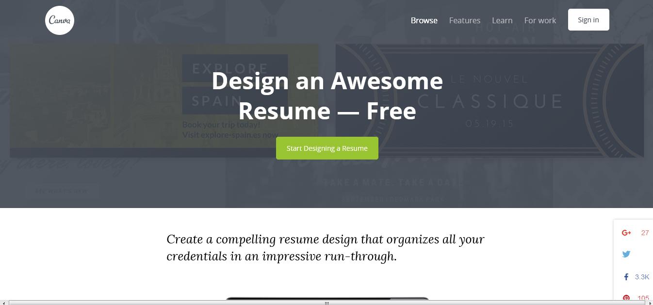 10 best free resume builder websites
