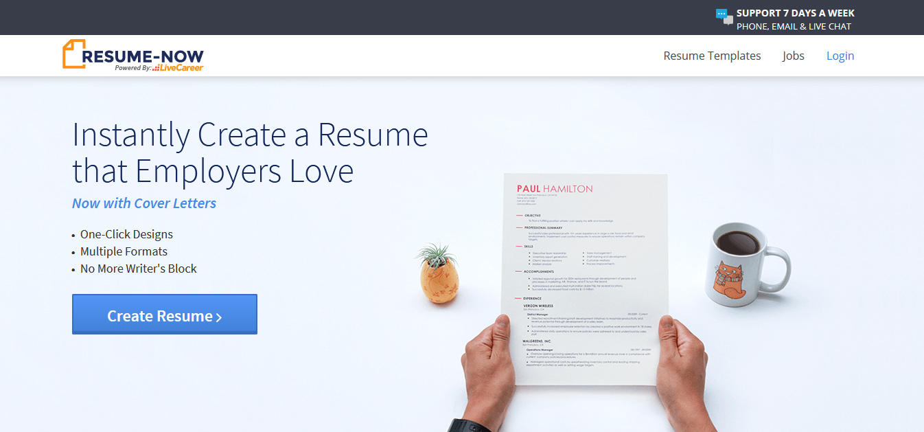 10 Best Free Resume Builder Websites Best Blog Themes